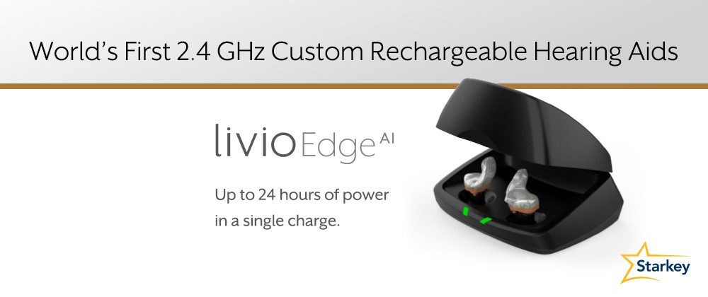 Rechargeable hearing aids banner